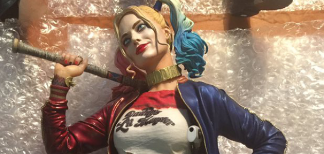 Confira detalhes da estatueta da Harley Quinn