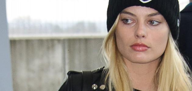 GALERIA: Margot Robbie no aeroporto de Londres/Nova Iorque