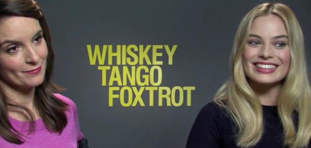 VÍDEOS: Entrevistas das press junkets de 'Whiskey Tango Foxtrot'