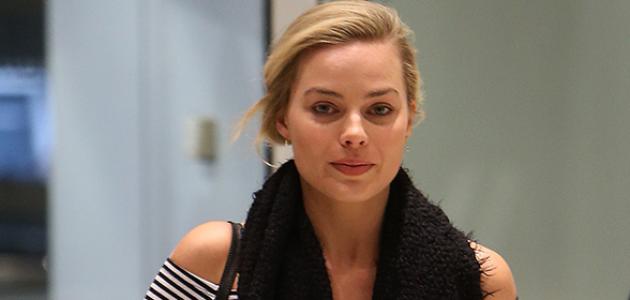 GALERIA: Margot embarcando no aeroporto de NY