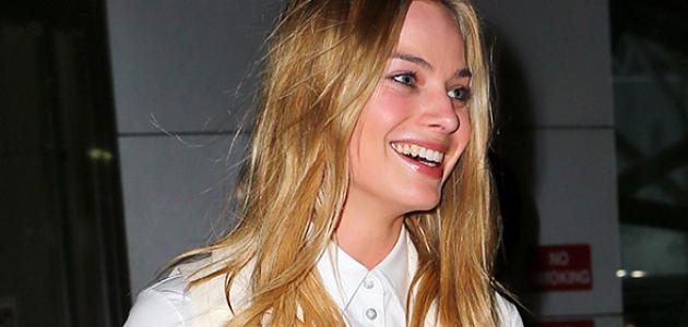 GALERIA: Margot desembarcando no aeroporto de NY