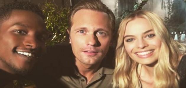 Instagram: Scott Evans publica fotos ao lado de Margot e Alexander