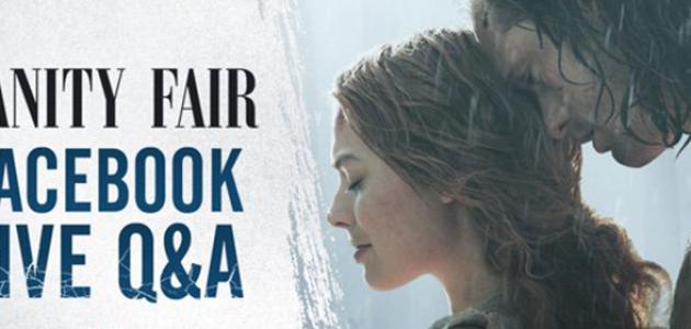 Margot e Alexander Skarsgard realizam Q&A no Facebook