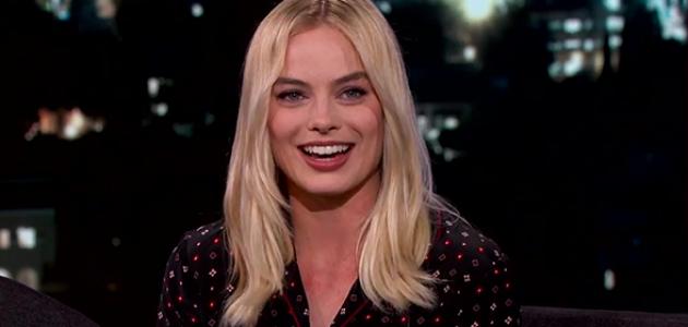 VÍDEOS: Margot no Jimmy Kimmel Live