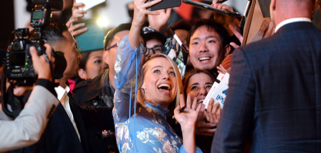 Segurança de Margot Robbie faz sucesso em Toronto