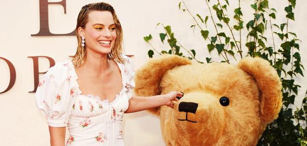Margot Robbie diz amar ter seu próprio Ursinho Pooh