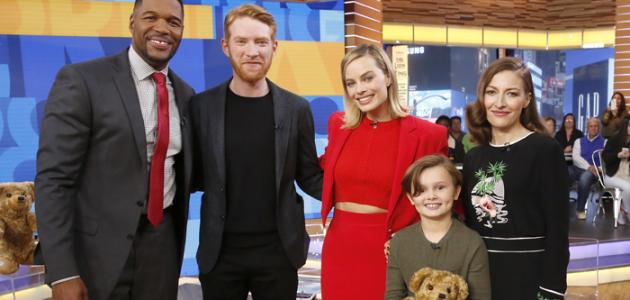 Fotos + Vídeos: Margot comparece ao Good Morning America em Nova York